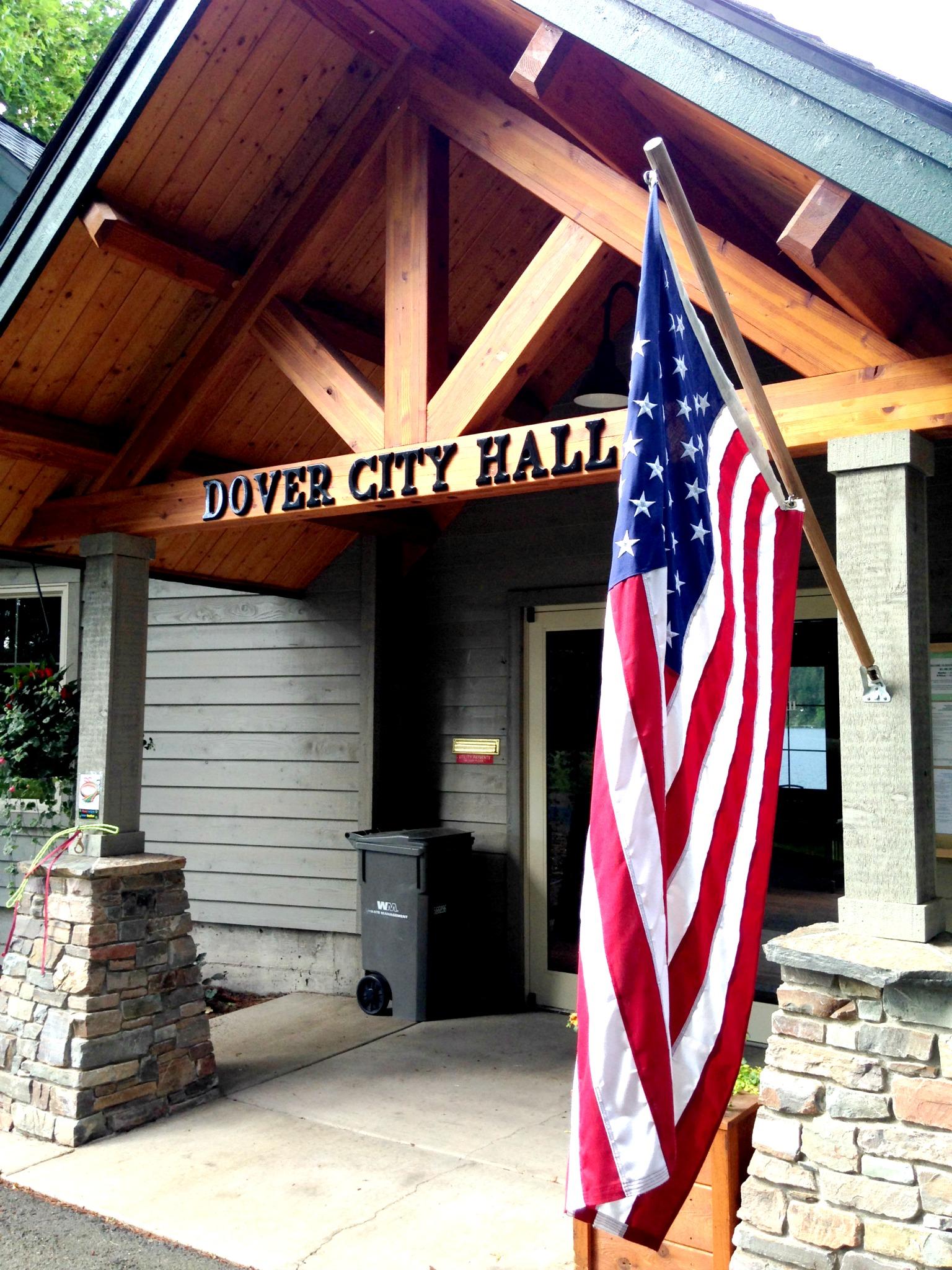 City Hall Back Open