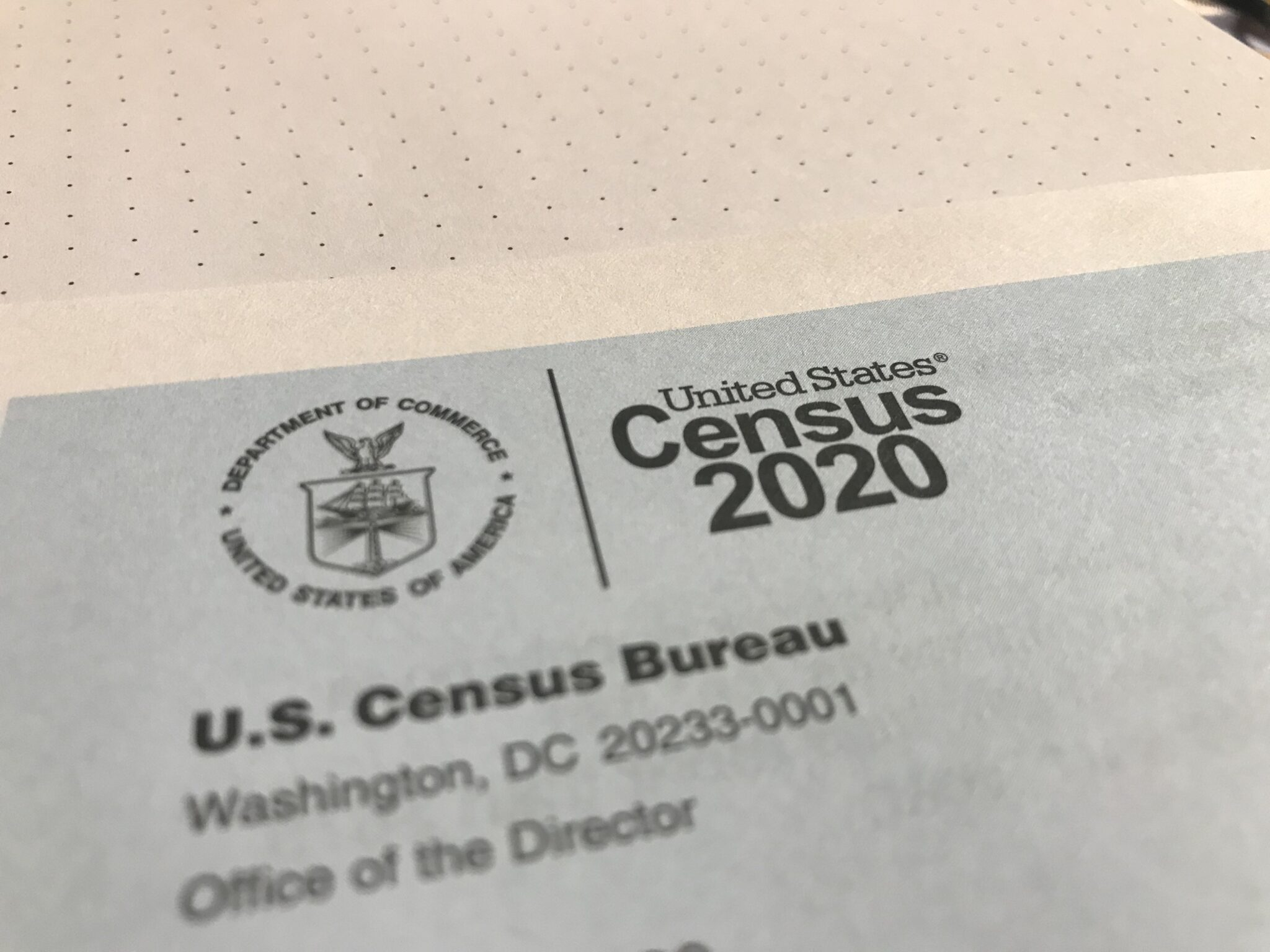 IMPORTANT MESSAGE FROM THE U.S. CENSUS BUREAU